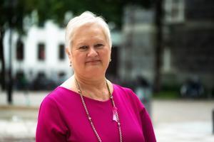 Styreleder Ellen Harris Utne i Brystkreftforeningen.