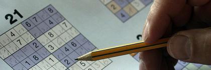 Anbefaler sudoku og kryssord ved kognitive problemer