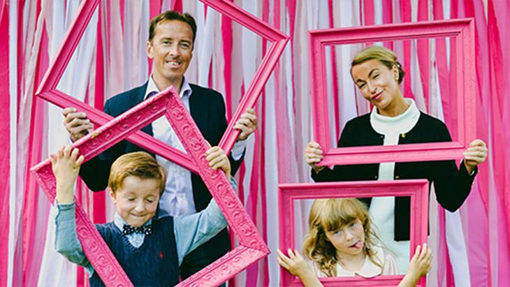 Velkommen til den store rosa familiefotodagen!