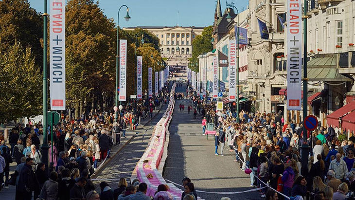 1.500 mennesker satte rosa rekord
