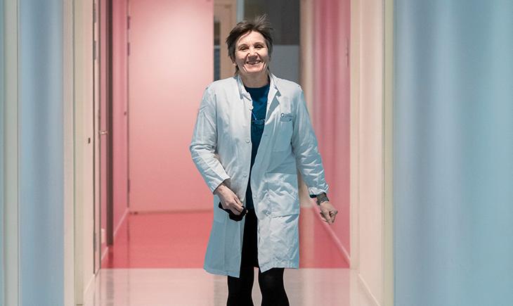 Lege Solveig Hofvind, Mammografiporgrammet