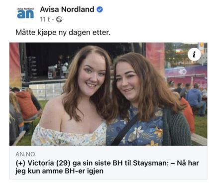 Faksimile fra Avisa Nordland
