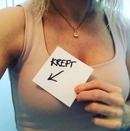 Ann Iren forteller om brystkreft på Instagram.