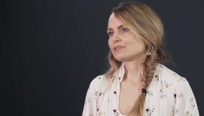 Kathrine Vandraas forklarer hvordan metastatisk brystkreft utredes og behandles.