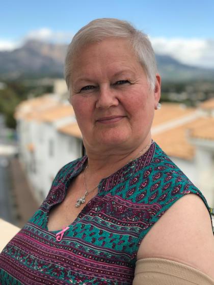 Styreleder Ellen Harris Utne i Brystkreftforeningen sliter med fatigue.