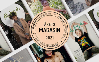 Cover av magasinet Altså