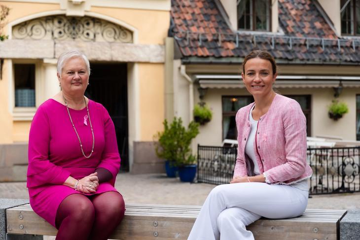 Styreleder i Brystkreftforeningen og generalsekretær i Kreftforeningen